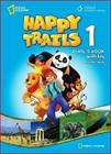 Obrazek Happy Trails 1 Pupil's Book For Students with CD-AUDIO
