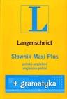Obrazek Słownik Maxi Plus Ang-Pol-Ang + gramatyka /Lang/