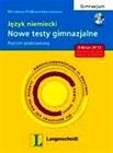 Obrazek Nowe Testy Gimnazjalne J. Niemiecki z CD Poz.podst. /Lang/