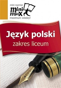 Obrazek Język polski - mini max Liceum