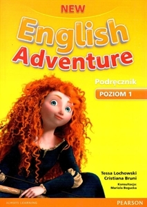 Obrazek English Adventure NEW 1 Podręcznik +DVD /2014