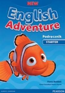 Obrazek English Adventure NEW Starter Podręcznik +DVD - 2014
