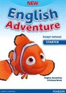 Obrazek English Adventure NEW Starter Ćwiczenia +Song CD - 2014