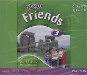 Obrazek Friends NEW 3 Class CD