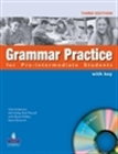 Obrazek Grammar Practice for Pre-Int Students' Book z CD