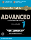 Obrazek Camb English Advanced 1 Exam: Student's Book Pack