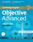 Obrazek Objective Advanced 4ed Student's Book with Answers + CD-ROM