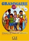 Obrazek Grammaire point ADO A1 podręcznik +CD