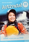 Obrazek Activate! B2 Students' Book eText Access Card with DVD wersja cyfrowa