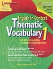 Obrazek English in Context: Thematic Vocabulary 1