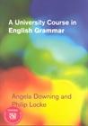 Obrazek University Course in English Grammar