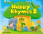 Obrazek Happy Rhymes 2 Pupil's Book + CD + DVD