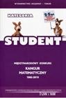 Obrazek Kangur Matematyczny -1992-2015- kategoria Student