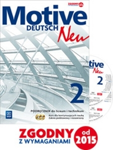 Obrazek  Motive Deutsch Neu 2 Podręcznik zakres podstawowy i rozszerzony+CD