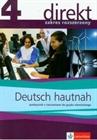 Obrazek Direkt 4 Hautnah podręcznik poziom rozszerzony z CD