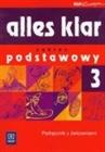 Obrazek Alles Klar 3 Podręcznik z ćwiczeniami +CD podstawowy