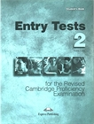 Obrazek CPE Entry Tests 2 Student's Book
