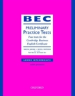 Obrazek BEC Preliminary Practice Tests Preliminary with answers
