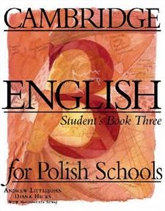 Obrazek Cambridge English for Polish Schools 3 Student's Book