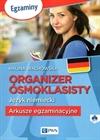 Obrazek Organizer ósmoklasisty Język niemiecki Arkusze egzaminacyjne + CD