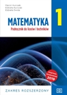 Obrazek Matematyka 1. Liceum i technikum klasa 1. Podręcznik. Zakres rozszerzony (po 8 klasie)