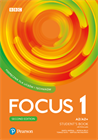 Obrazek  Focus Second Edition 1. Student's Book + kod (Digital Resources + Interactive eBook)