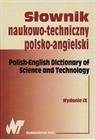 Obrazek  SŁOWNIK NAUKOWO-TECHNICZNY POLSKO-ANGIELSKI. WYD. IX