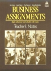 Obrazek Business Assignments: Teacher's Notes