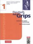 Obrazek   Deutsch Mit Grips, j.niemiecki, ćwiczenia z zadaniami maturalnymi i płytą CD, część 1