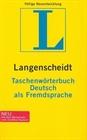Obrazek Langenscheidt .Taschenworterbuch Deutsch als Fremdsprache